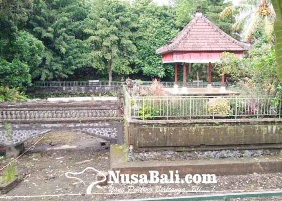 Nusabali.com - dlh-bangli-usulkan-perbaikan-bale-kambang