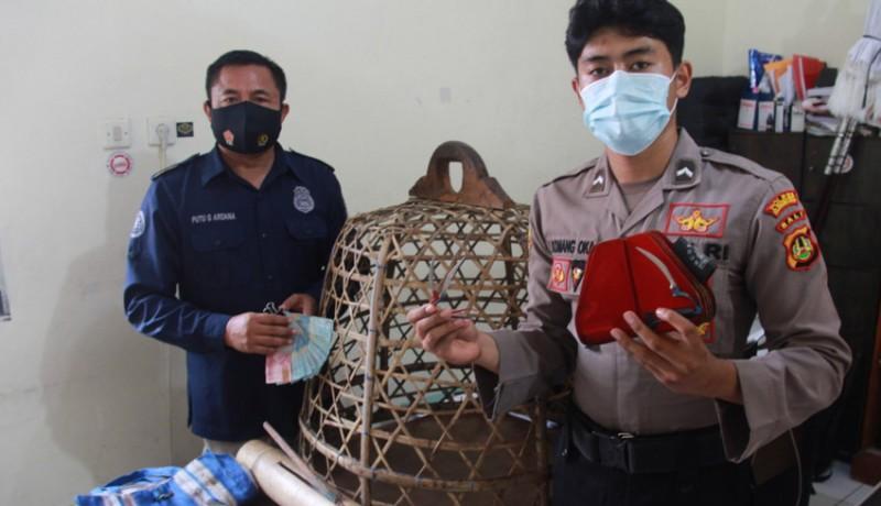 www.nusabali.com-polres-klungkung-gerebek-tajen-di-tengah-pandemi