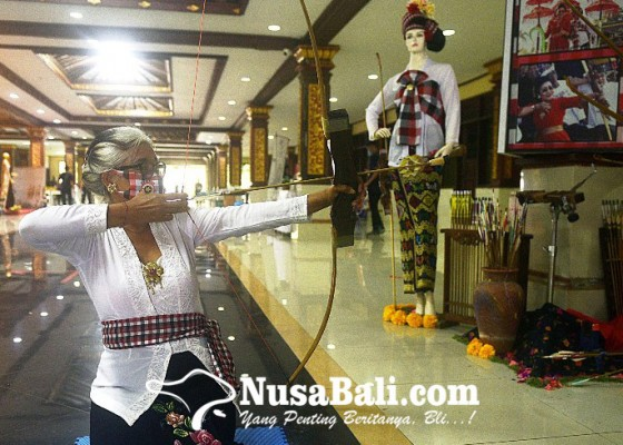 Nusabali.com - seni-panahan-tradisional-bali-dipamerkan-dalam-umkm-bali-bangkit