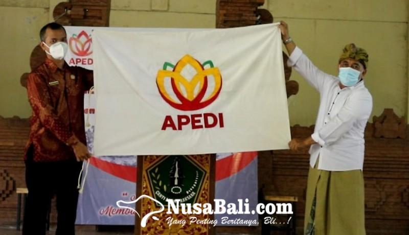 www.nusabali.com-apedi-bali-dikukuhkan-sonyka-utama-jadi-ketua