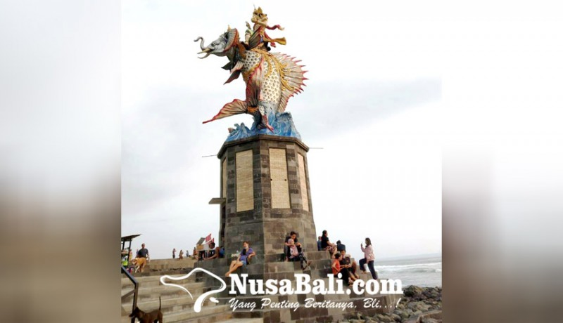 www.nusabali.com-patung-gajah-mina-ikon-pantai-pererenan