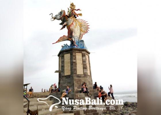 Nusabali.com - patung-gajah-mina-ikon-pantai-pererenan