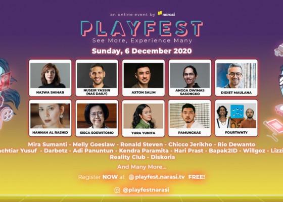 Nusabali.com - playfest-2020-upaya-bersama-tumbuhkan-industri-kreatif-tanah-air
