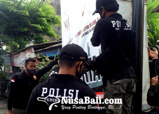 Nusabali.com - masa-tenang-pilkada-satpol-pp-sisir-apk-tercecer