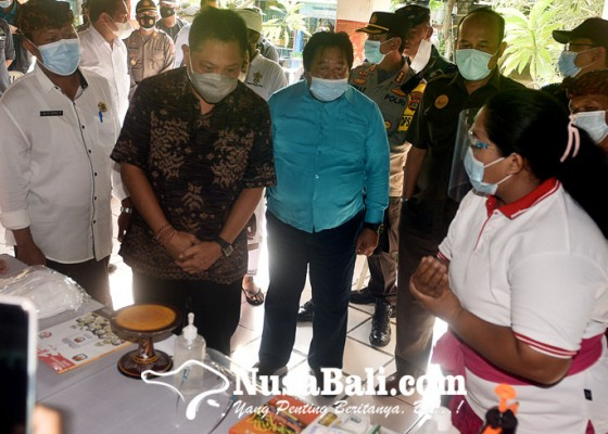 Nusabali.com - walikota-rai-mantra-tinjau-kesiapan-tps-di-kota-denpasar
