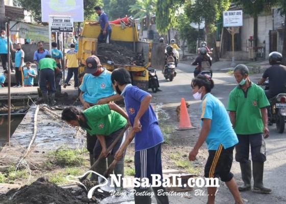 Nusabali.com - musim-hujan-drainase-dinormalisasi
