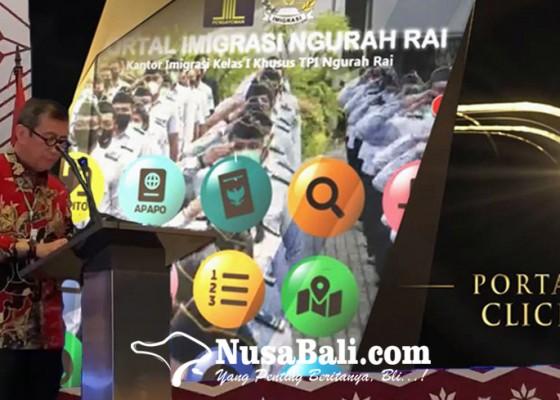 Nusabali.com - imigrasi-ngurah-rai-launching-portal-click