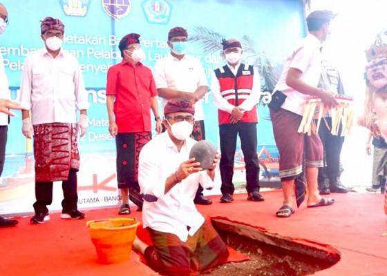 Nusabali.com - pembangunan-pelabuhan-penyeberangan-laut-sanur-resmi-dimulai