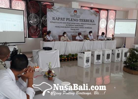 Nusabali.com - kpu-jembrana-tetapkan-paket-tepat-unggul-5199-persen