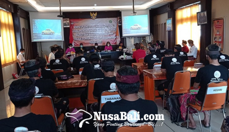 www.nusabali.com-pleno-kpu-tabanan-suara-tidak-sah-cukup-tinggi
