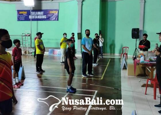 Nusabali.com - 549-pemain-bulutangkis-ikuti-kejuaraan-remaja