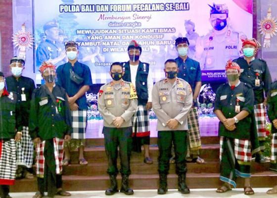 Nusabali.com - jelang-nataru-kapolda-temui-forum-pecalang
