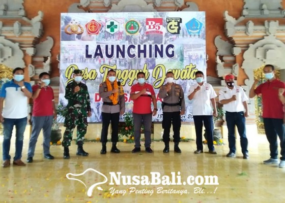 Nusabali.com - sidan-launching-desa-tangguh-dewata