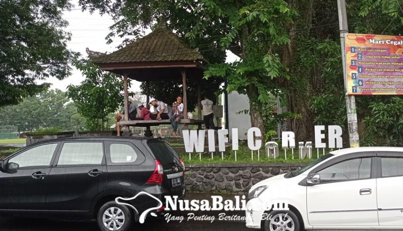 www.nusabali.com-viral-fasilitas-publik-di-lapangan-alit-saputra-dirusak