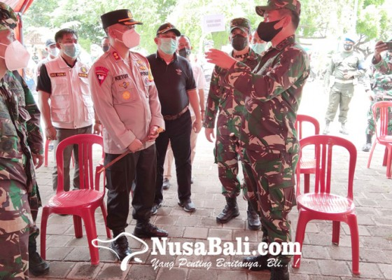 Nusabali.com - tinjau-gilimanuk-pangdam-minta-perketat-pengawasan-malam-hari