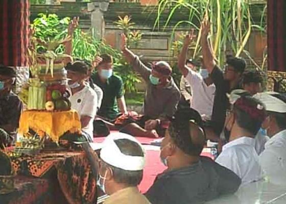 Nusabali.com - pemilihan-kisruh-bendesa-keramas-ditetapkan