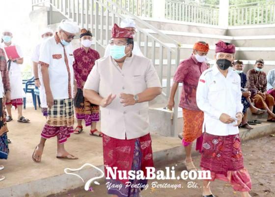 Nusabali.com - dibantu-pusat-lestarikan-tradisi-catur-desa