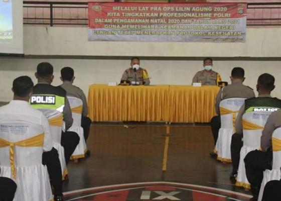Nusabali.com - personel-polres-jembrana-diberi-pembekalan-jelang-operasi-lilin