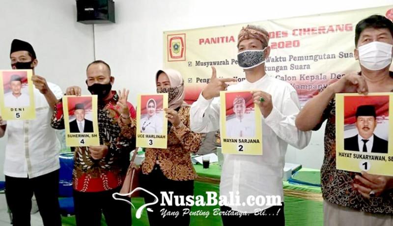 www.nusabali.com-coblosan-pilkades-di-bogor-wayan-sarjana-yakin-unggul