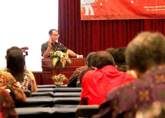 Nusabali.com - balitbang-badung-gelar-evaluasi-kebijakan-penerapan-prokes