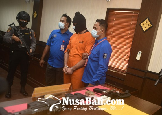 Nusabali.com - polda-bali-juga-amankan-3-senjata-api-ilegal
