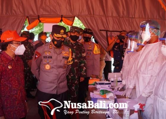 Nusabali.com - gubernur-kapolda-pangdam-cek-pengamanan-gilimanuk