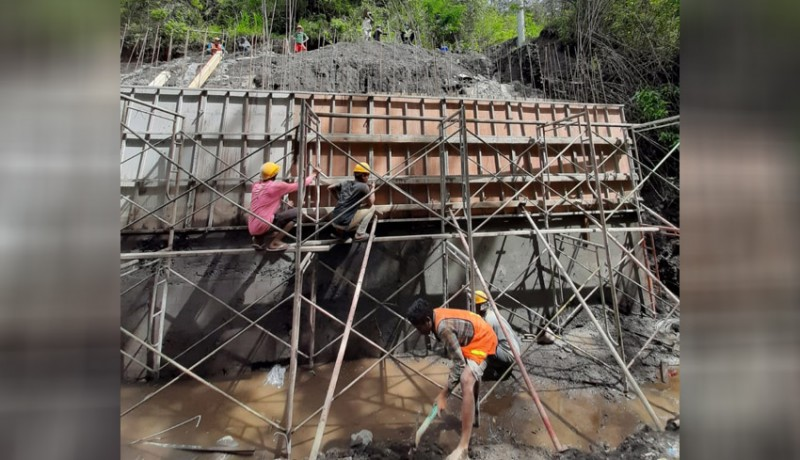 www.nusabali.com-sisa-anggaran-jembatan-pinggan-siakin-rp-22-m