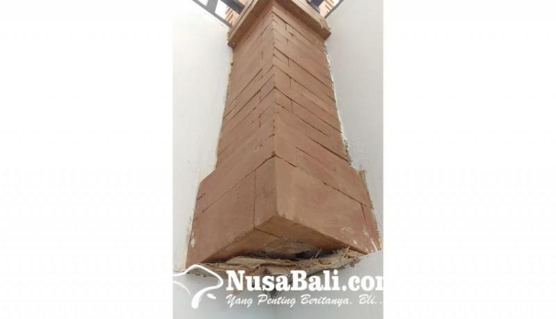 www.nusabali.com-finishing-smpn-14-denpasar-tidak-rapi