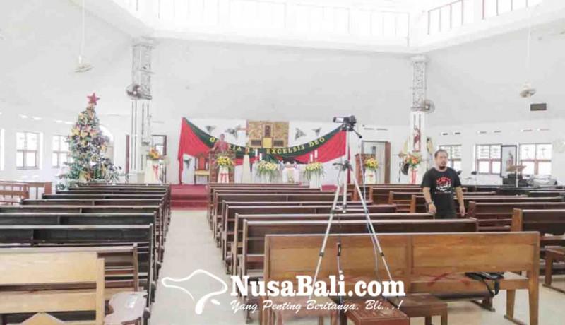 www.nusabali.com-gereja-katolik-paroki-santo-paulus-singaraja-batasi-jemaat