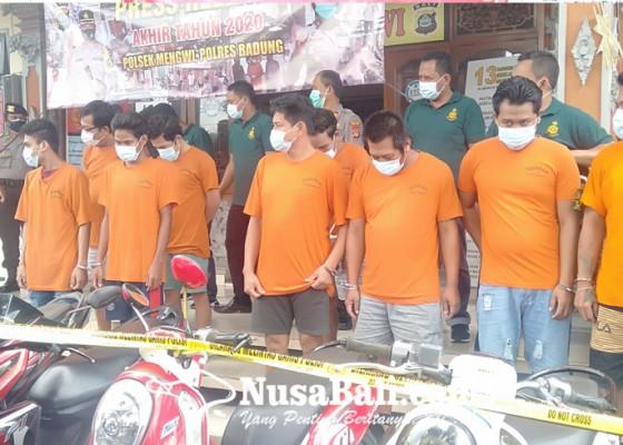 Nusabali.com - setahun-polsek-mengwi-ungkap-35-kasus