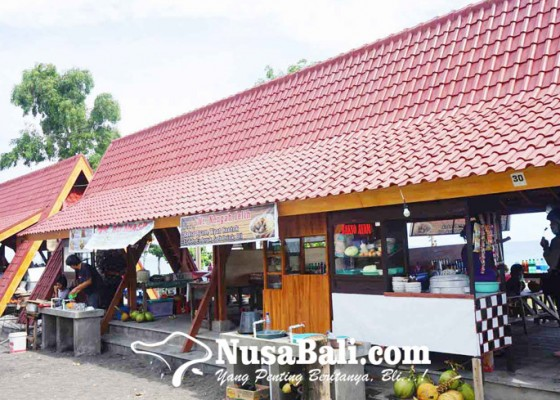 Nusabali.com - pedagang-masih-gratis-tempati-objek-wisata-yehmalet