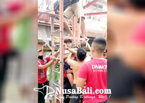 Nusabali.com - ribut-dengan-ayah-abg-coba-bunuh-diri-dari-atas-tower