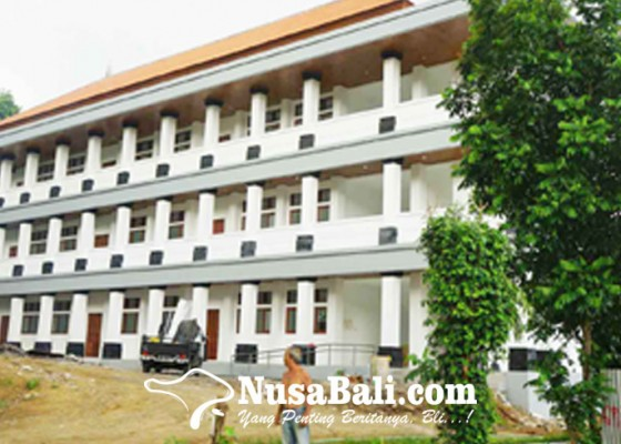 Nusabali.com - gedung-selesai-furniture-belum-ada