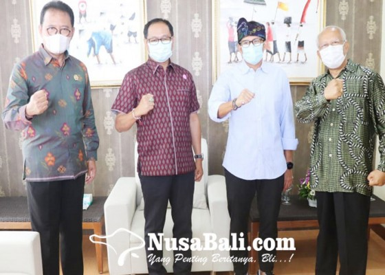 Nusabali.com - wabup-suiasa-bertemu-menparekraf-di-gwk