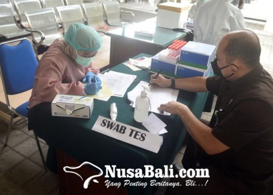 Nusabali.com - pengadilan-negeri-denpasar-gelar-swabtest-massal