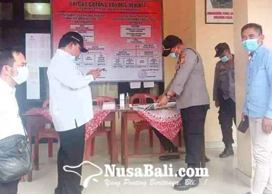 Nusabali.com - polres-nilai-gtpp-covid-19-se-karangasem