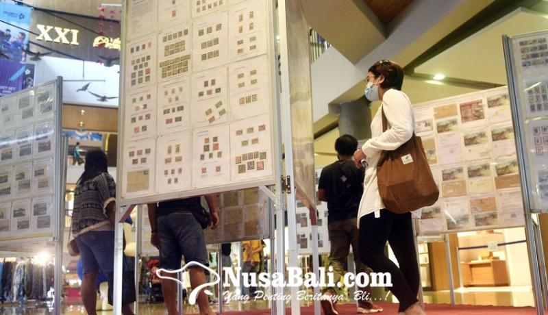 www.nusabali.com-ratusan-koleksi-filateli-dipamerkan-di-level-21-mall
