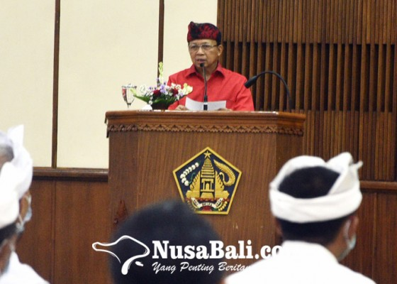 Nusabali.com - koster-warning-pejabat-tinggalkan-ritme-kerja-biasa-biasa-saja