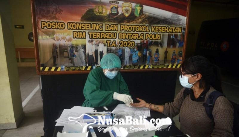 www.nusabali.com-rapid-test-sebelum-mengikuti-acara-pemaparan-akhir-tahun-2020-kapolda-bali
