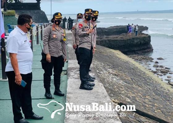 Nusabali.com - kapolda-sidak-prokes-ke-pantai-echo-beach