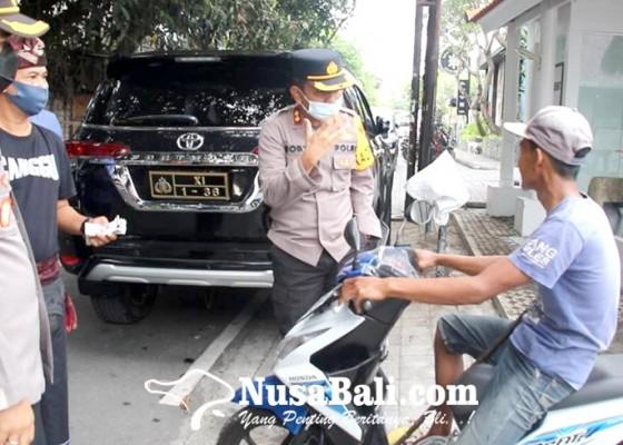 Nusabali.com - kapolres-badung-pelototi-kepatuhan-warga-terhadap-prokes