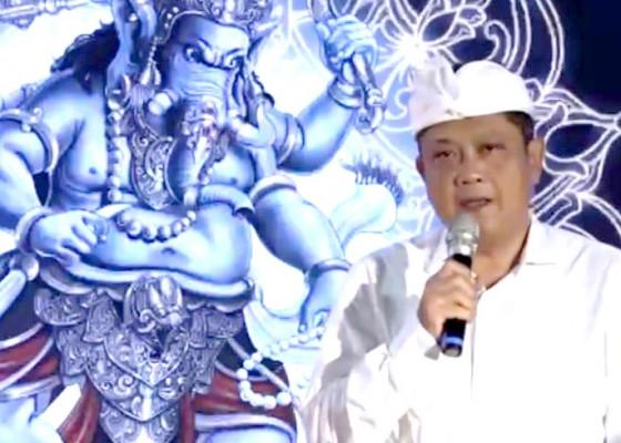 Nusabali.com - ritual-budaya-hyang-ganapati-tutup-gelaran-denfest-ke-13