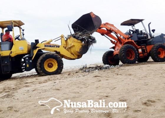 Nusabali.com - terus-berdatangan-dlhk-badung-angkut-70-ton-sampah-kiriman