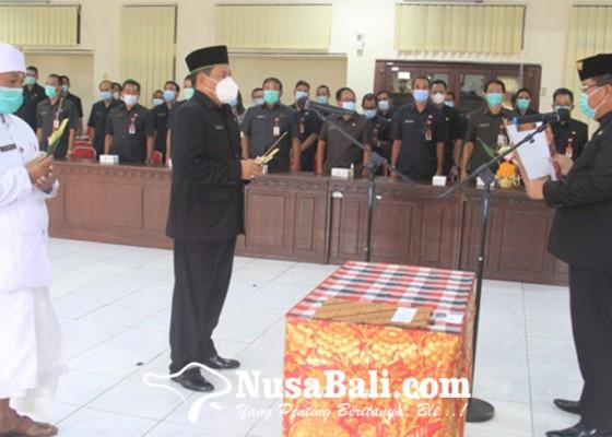 Nusabali.com - bupati-artha-lantik-ledang-jadi-pj-sekda