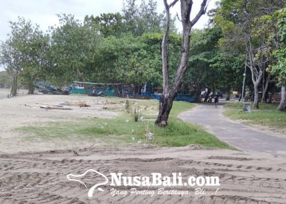 Nusabali.com - abrasi-pantai-kuta-sudah-tertangani