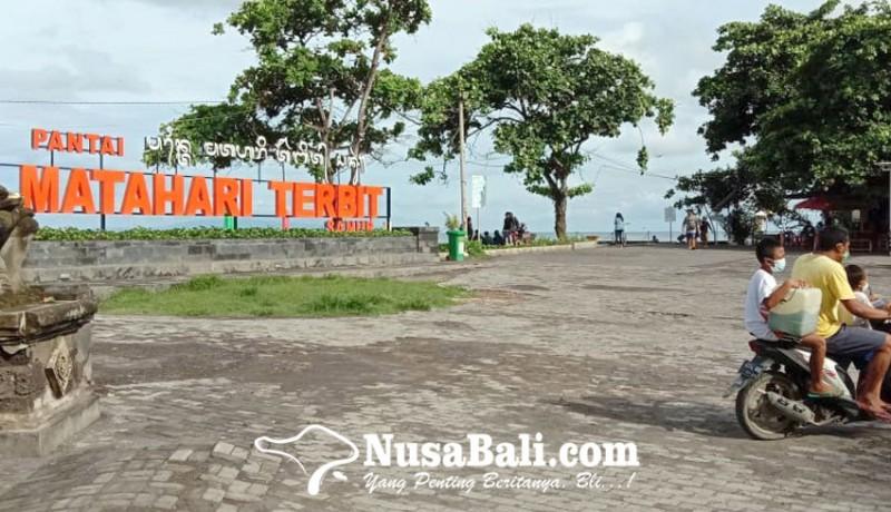 www.nusabali.com-libur-nataru-berlalu-pantai-sanur-kembali-lengang