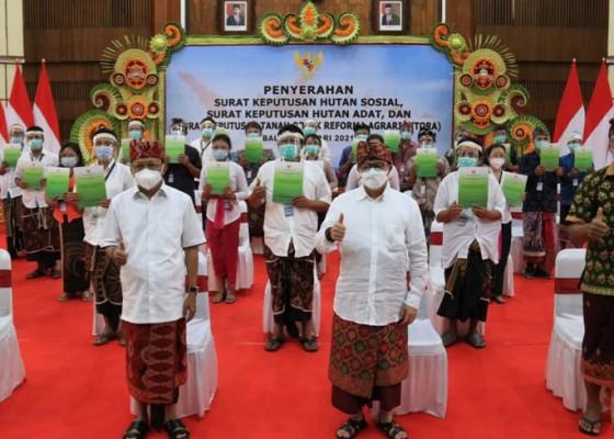 Nusabali.com - bali-kebagian-jatah-kelola-hutan-sosial-dan-hutan-adat