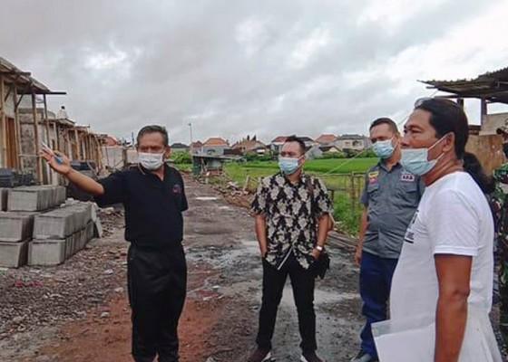 Nusabali.com - bermasalah-warga-sidakarya-hentikan-proyek-perumahan