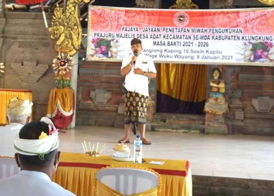 Nusabali.com - 4-mda-kecamatan-di-klungkung-dikukuhkan