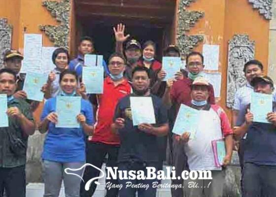 Nusabali.com - kantor-pertanahan-tuntaskan-8946-sertifikat